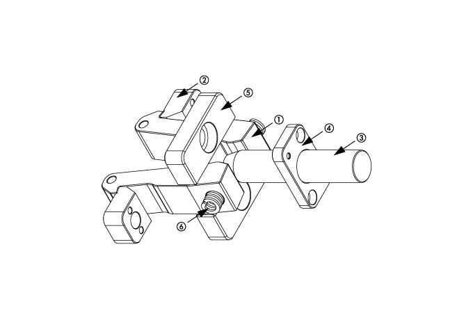 S6214 KLINKENZUG, TYP DT (KLINKENZUG-SET MIT STIFTLAGER)
