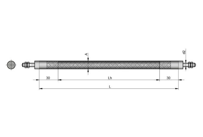 S5152 FLEXIBLER ROHRHEIZKÖRPER Ø6,5 mm