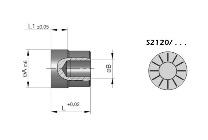 S2120 Datumsteller für Druckgießwerkzeuge