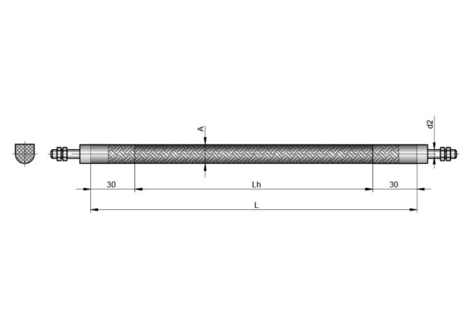 S5154 FLEXIBLER ROHRHEIZKÖRPER D6,5 mm