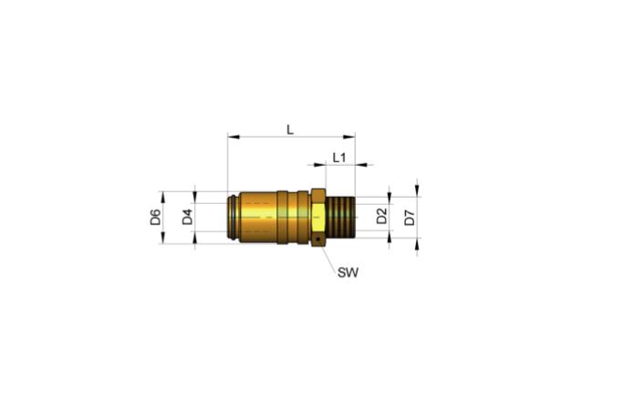 S3315 SCHNELLKUPPLUNG, EU-STANDARD