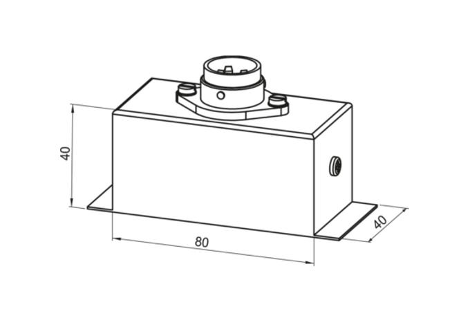 S5316 STECKVERBINDER-ANSCHLUSS