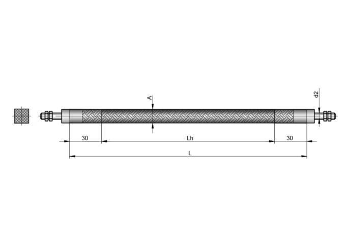 S5153 FLEXIBLER ROHRHEIZKÖRPER 6x6 mm